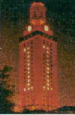 UT Tower in 1963