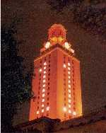 UT Tower in 1969